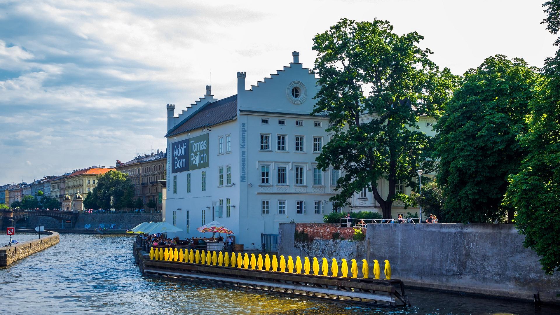 Prague Riverside Impressions III.