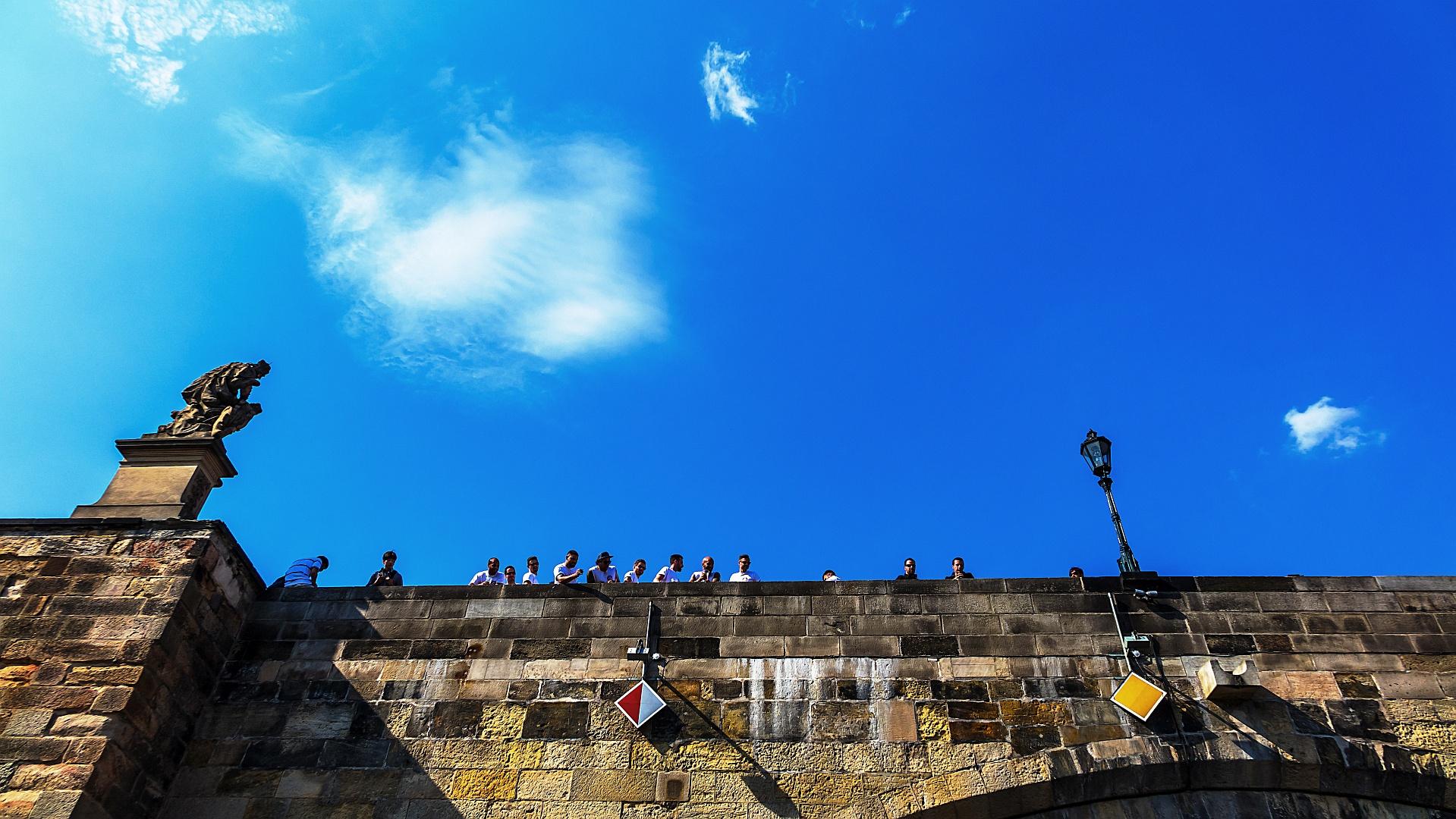 Prague Riverside Impressions V.