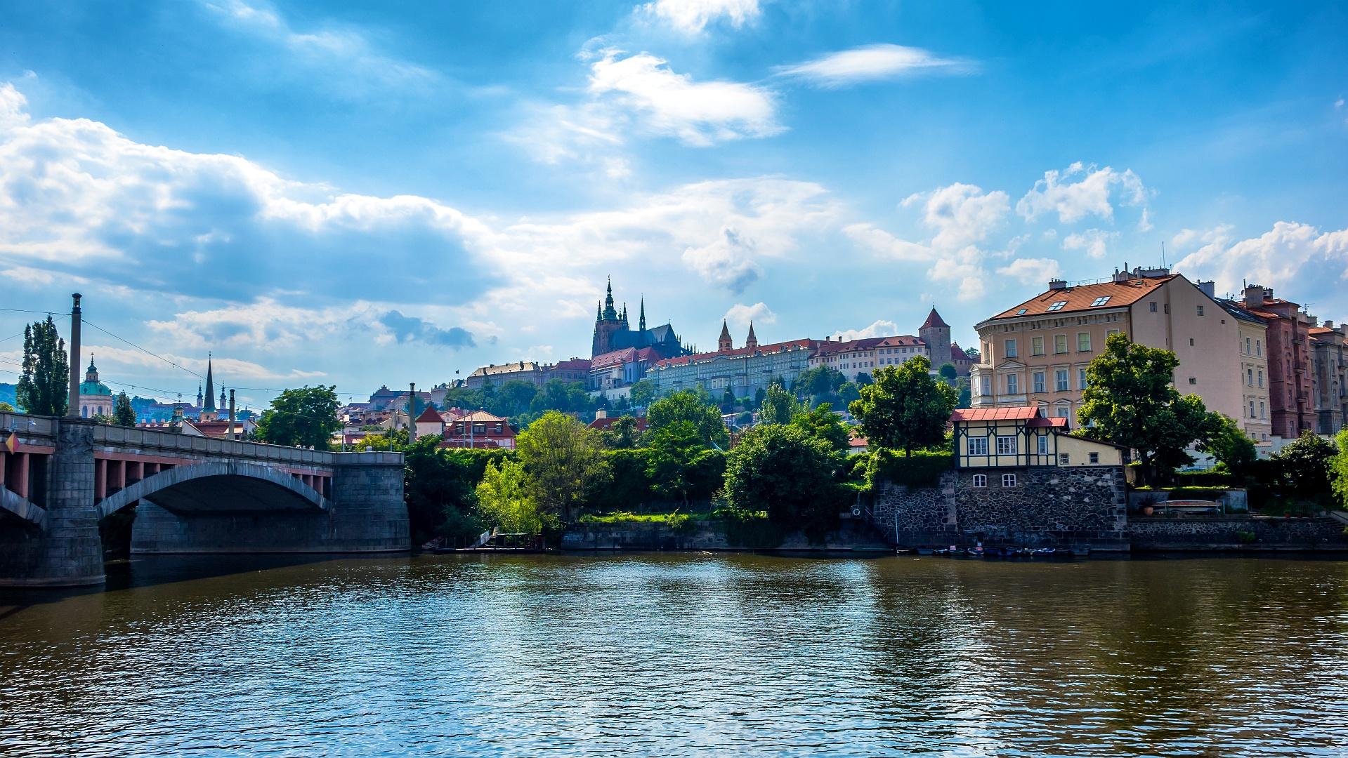 Prague Riverside Impressions IV.